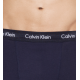 Calvin Klein Boxer Ανδρικό Βαμβακερό Εξωτερικό Λάστιχο Blue Black New Collection Cotton Stretch